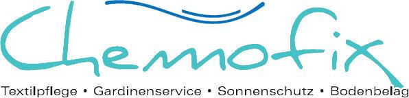 Chemofix - Textilpflege und Gardinenservice GmbH - Logo